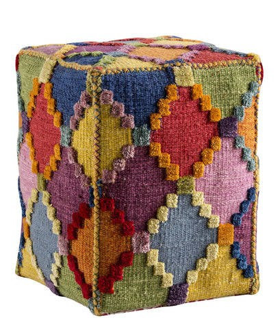 MAT The Basics Baptiste Multi Pouf - KINGDOM RUGS