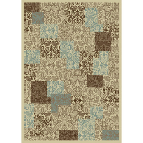 Concord Global Trading Chester Patchwork Soft Area Rug - KINGDOM RUGS - 1