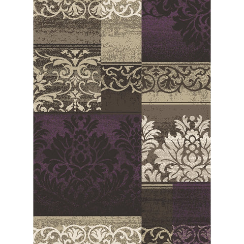 Concord Global Trading Casa Capri Amethyst Area Rug - KINGDOM RUGS
