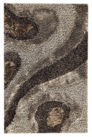 MAT Orange Dunes Grey Area Rug - KINGDOM RUGS - 1