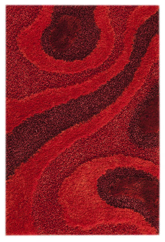 MAT Orange Dunes Red Area Rug - KINGDOM RUGS - 1