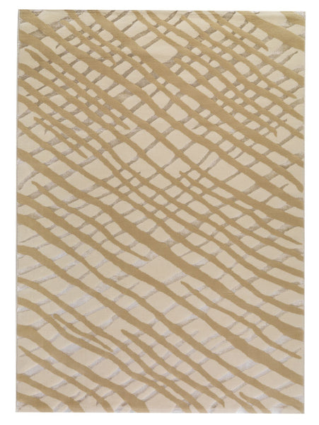 MAT Orange Big Ben Fantasma White  Area Rugs - KINGDOM RUGS - 1