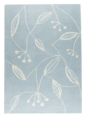 MAT The Basics Flora Blue Area Rugs - KINGDOM RUGS - 1