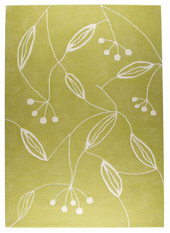 MAT The Basics Flora Green Area Rugs - KINGDOM RUGS - 1