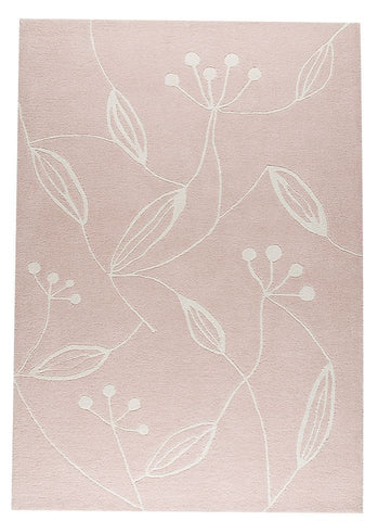 MAT The Basics Flora Pink Area Rugs - KINGDOM RUGS - 1