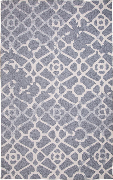 MAT Orange Heritage Grey Area Rug - KINGDOM RUGS - 1