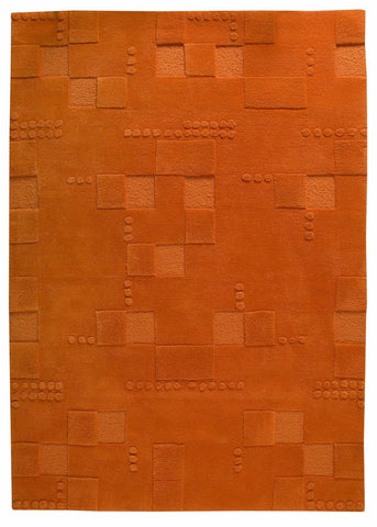 MAT The Basics Miami Orange Area Rug - KINGDOM RUGS - 1