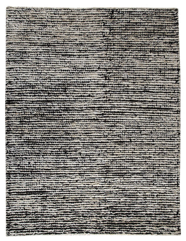 MAT The Basics Nature White Black Area Rug - KINGDOM RUGS - 1