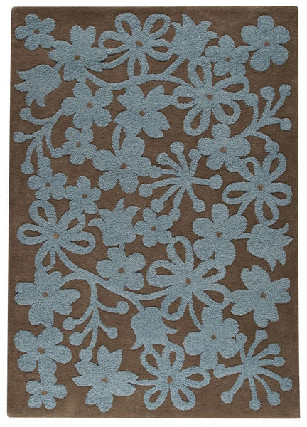 MAT The Basics Newport Grey/Turquoise Area Rugs - KINGDOM RUGS - 1