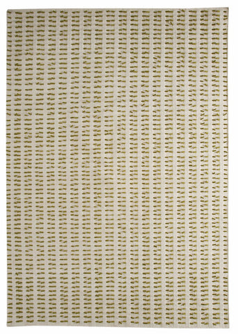 MAT The Basics Palmdale White Green Area Rug - KINGDOM RUGS - 1