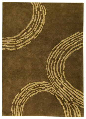 MAT The Basics Pamplona Olive Green Area Rug - KINGDOM RUGS - 1