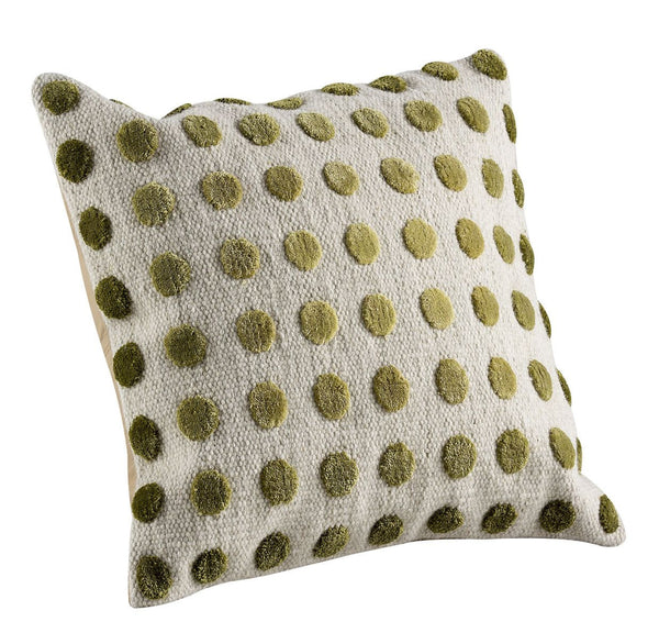 MAT The Basics Pasquale Green Cushions - KINGDOM RUGS
