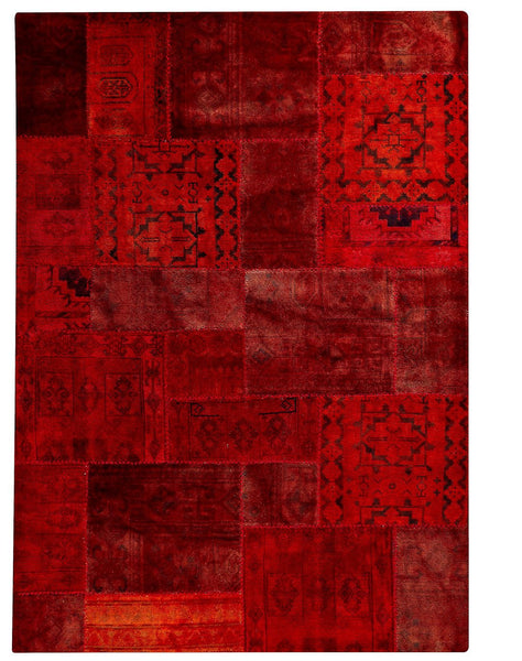 MAT Vintage Renaissance Red Area Rug - KINGDOM RUGS - 1
