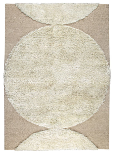 MAT The Basics Rondo White Area Rugs - KINGDOM RUGS - 1