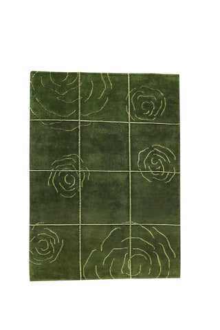 MAT The Basics Rose Green Area Rugs - KINGDOM RUGS