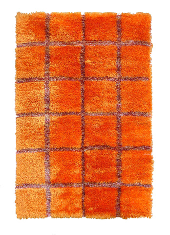 MAT The Basics Safari Orange Area Rug - KINGDOM RUGS