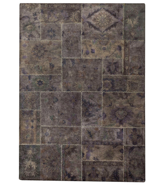 MAT Vintage Sarangi Grey Area Rug - KINGDOM RUGS - 1