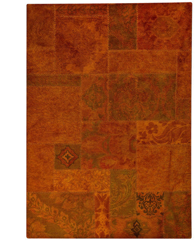 MAT Vintage Sarangi Orange Area Rug - KINGDOM RUGS - 1