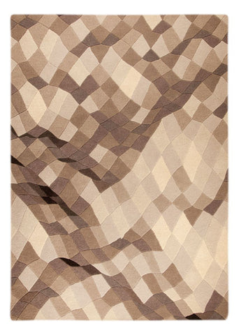MAT Orange Shades Grey Area Rug - KINGDOM RUGS - 1