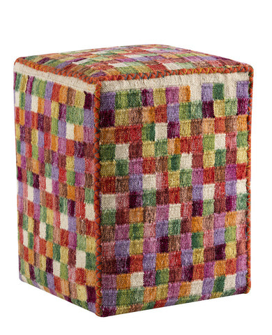 MAT The Basics Small Box Multi Pouf - KINGDOM RUGS