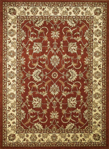 Concord Global Trading Chester Sultan Red Area Rug - KINGDOM RUGS - 1