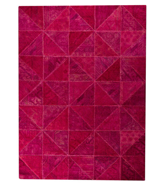 MAT Vintage Tile Pink Area Rugs - KINGDOM RUGS - 1
