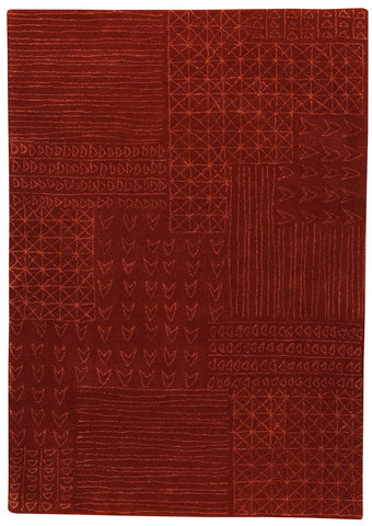 MAT The Basics Tripoli Rust Area Rugs - KINGDOM RUGS