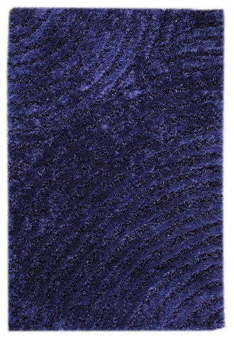 MAT Orange Roca Tweed Blue Area Rugs - KINGDOM RUGS - 1