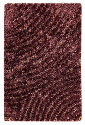 MAT Orange Roca Tweed Purple Area Rugs - KINGDOM RUGS