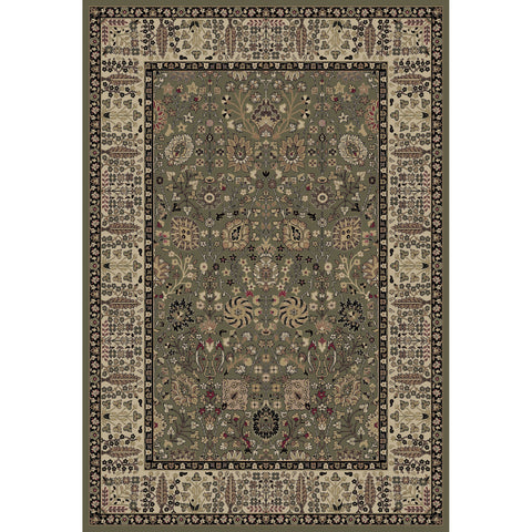Concord Global Trading Persian Vase Green Area Rug - KINGDOM RUGS