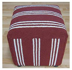 Momeni VO-16 Red Cushion Bag - KINGDOM RUGS