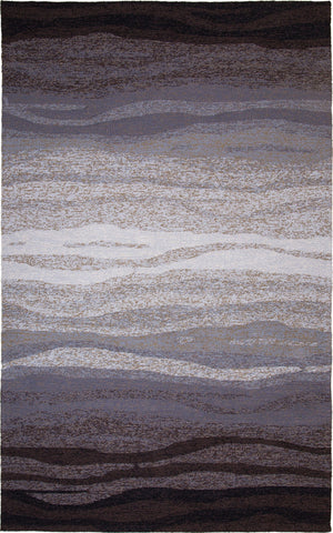 MAT Orange Vista Grey Area Rug - KINGDOM RUGS - 1
