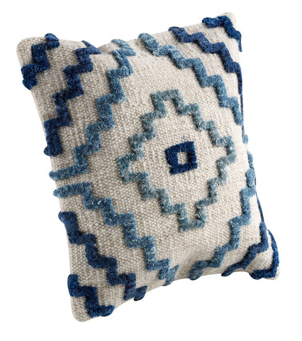MAT The Basics Vitale Blue Cushions - KINGDOM RUGS