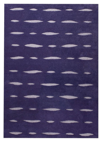 MAT Orange Wink Blue Purple Area Rug - KINGDOM RUGS - 1