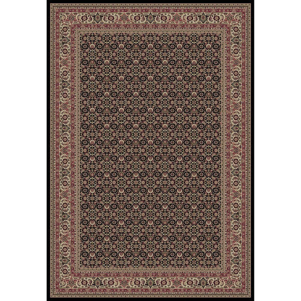 Concord Global Trading Persian Herati Black Area Rug - KINGDOM RUGS