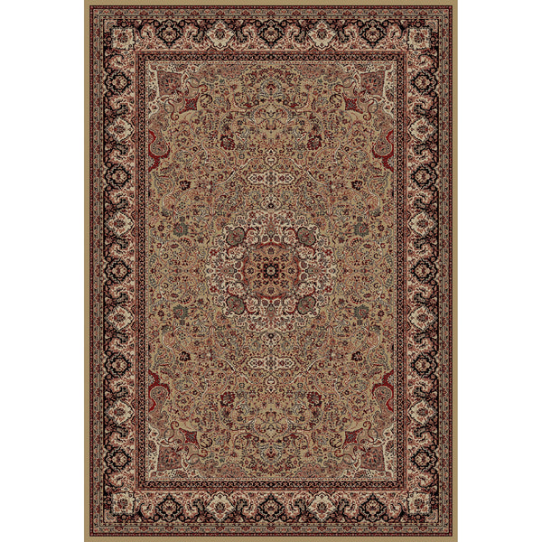 Concord Global Trading Persian Isfahan Gold Area Rug - KINGDOM RUGS - 1