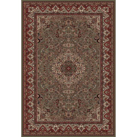 Concord Global Trading Persian Isfahan Green Area Rug - KINGDOM RUGS - 1