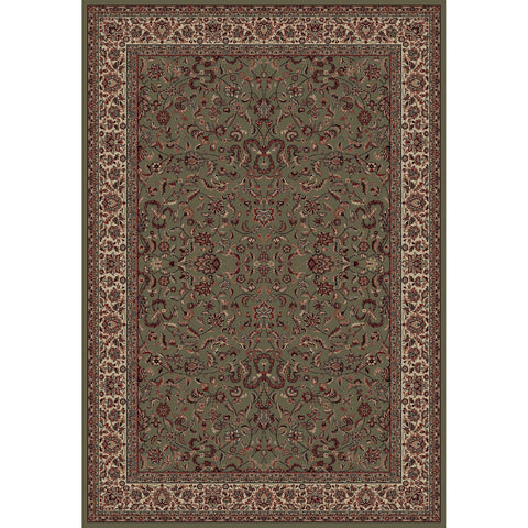 Concord Global Trading Persian Kashan Green Area Rug - KINGDOM RUGS - 1