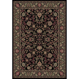 Concord Global Trading Persian Mahal Black Area Rug - KINGDOM RUGS - 1