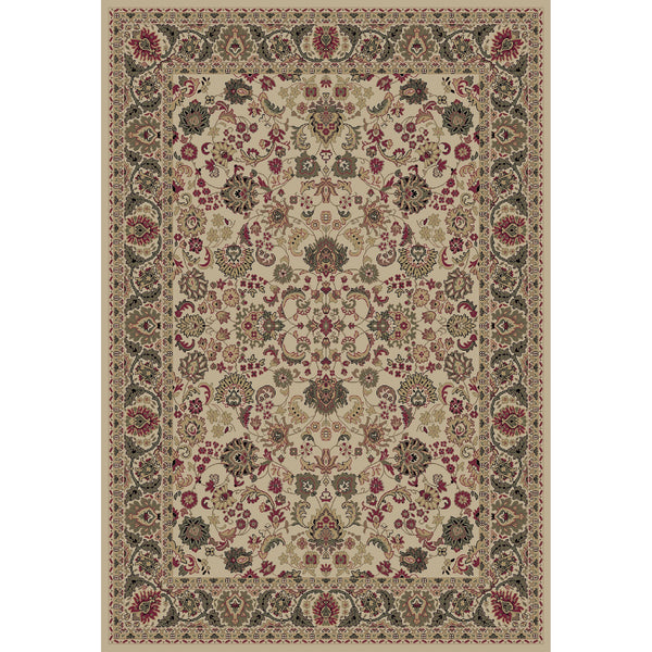 Concord Global Trading Persian Mahal Ivory Area Rug - KINGDOM RUGS - 1