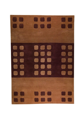 MAT The Basics Domino Beige/Brown Area Rugs - KINGDOM RUGS