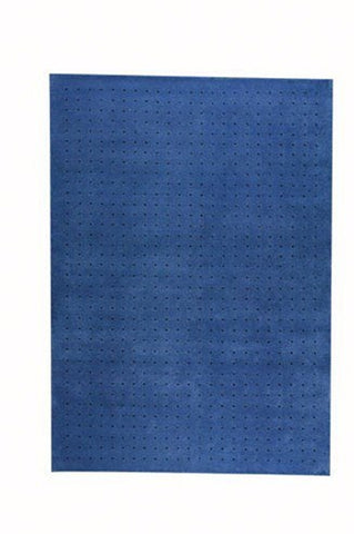 MAT The Basics Snow Blue Area Rugs - KINGDOM RUGS