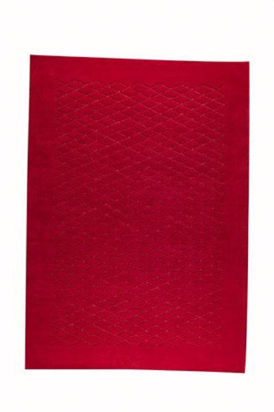 MAT The Basics Rhodos Red Area Rugs - KINGDOM RUGS