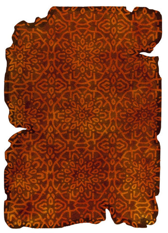 MAT Vintage Jalwa 3 Orange Area Rugs - KINGDOM RUGS