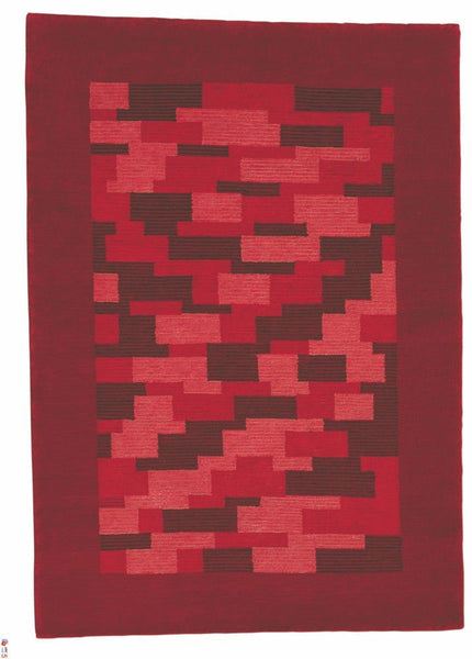 MAT The Basics Nule Red Area Rugs - KINGDOM RUGS