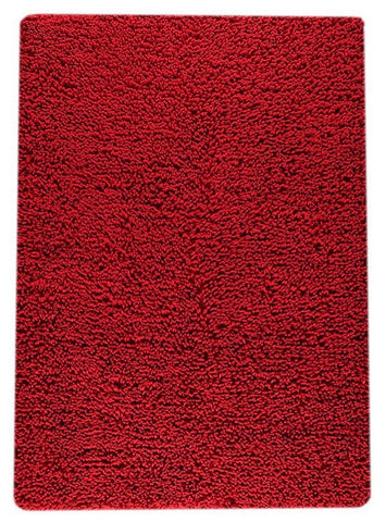MAT The Basics Square Red Area Rugs - KINGDOM RUGS