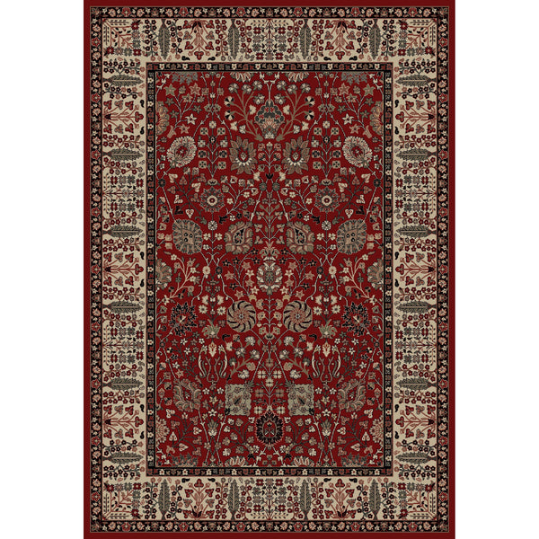 Concord Global Trading Persian Vase Red Area Rug - KINGDOM RUGS