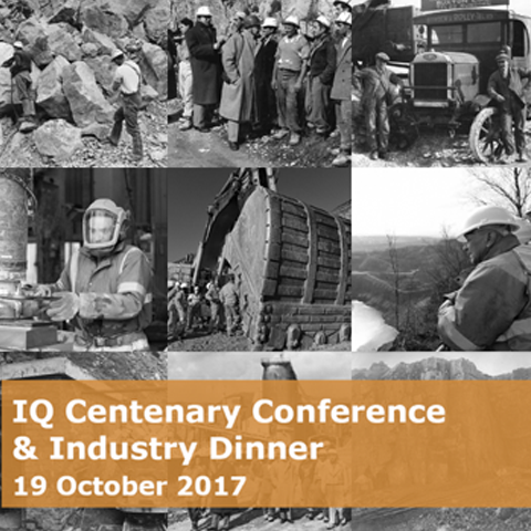 Institute of Quarrying Centenary Conference & Industry Dinner