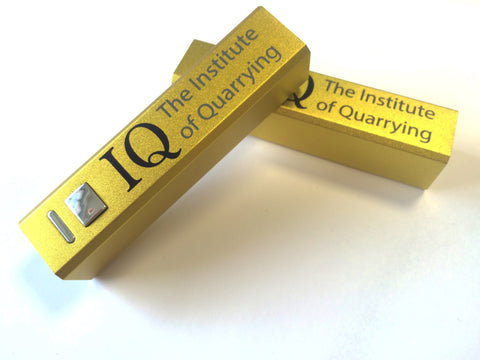 IQ branded powerbanks