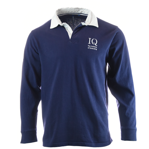 IQ Branded Vintage Rugby Shirt